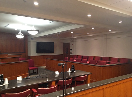 Carroll County Courthouse electric renovation